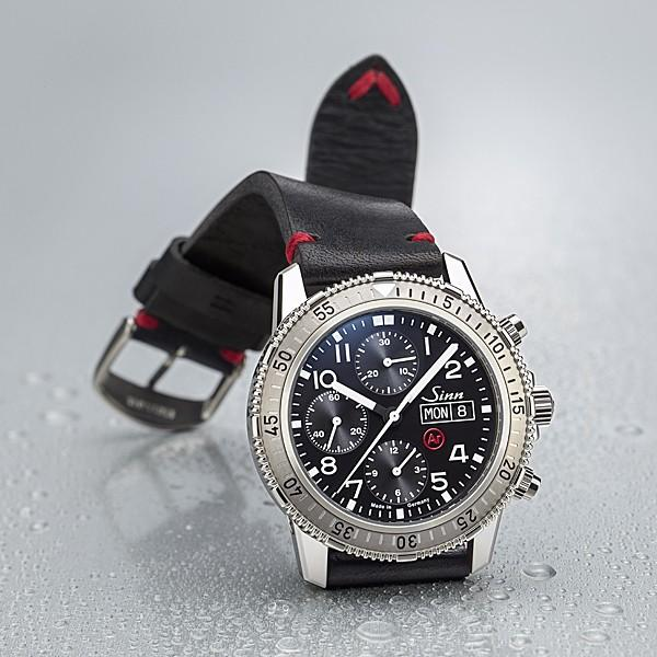 ジン SINN ダイビングウォッチ 206.ST.AR 機械式(自動巻き)腕時計 カウレザーストラップ・ブラック仕様 正規品|a-spiral|08