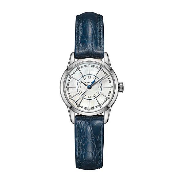 ハミルトン HAMILTON レイルロード レディ H40311691 クオーツ腕時計
