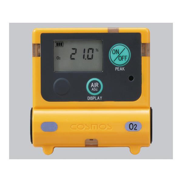 新コスモス電機 装着型酸素濃度計 0〜25vol% 25〜50vol% XO-2200 (1-8793-11)