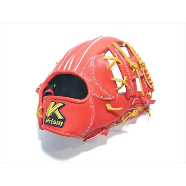 野球 K-ism ケーイズム 硬式グラブ  内野手用 K201 約28.5cm日本製 型付け無料|a27baseball|06