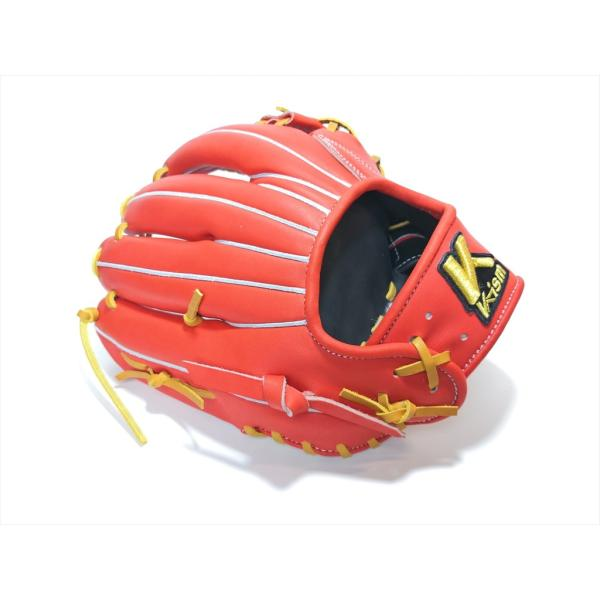 野球 K-ism ケーイズム 硬式グラブ  内野手用 K201 約28.5cm日本製 型付け無料|a27baseball|08