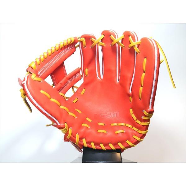 野球 K-ism ケーイズム 硬式グラブ  内野手用 K201 約28.5cm日本製 型付け無料|a27baseball|09