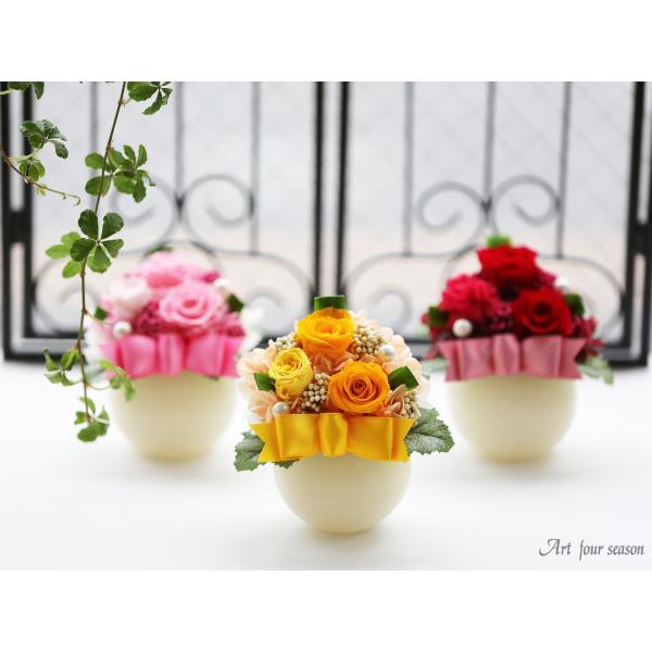 LEDプリザ プリザーブドフラワー 誕生日プレゼント バラ 結婚記念日 プレゼント 還暦祝い 退職祝い 女性 ギフト|a4s|04