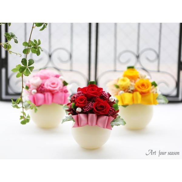 LEDプリザ プリザーブドフラワー 誕生日プレゼント バラ 結婚記念日 プレゼント 還暦祝い 退職祝い 女性 ギフト|a4s|06