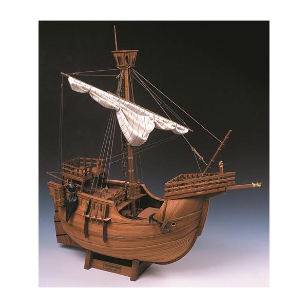 ウッディジョー/木製帆船模型 1/30カタロニア船