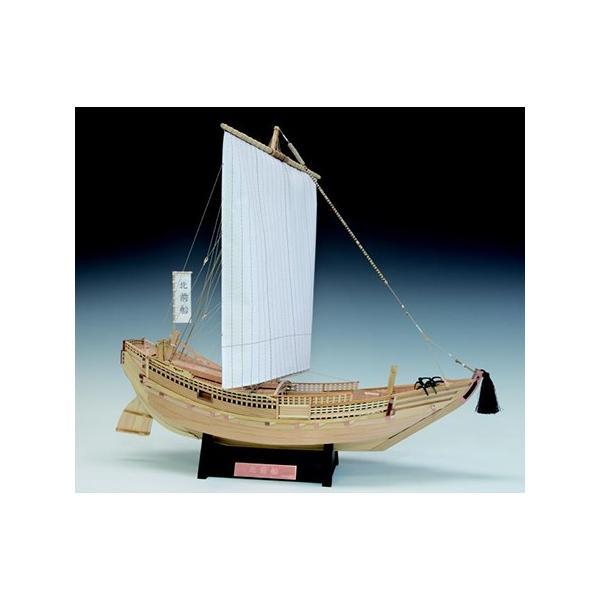 ウッディジョー/木製和船模型 1/72北前船