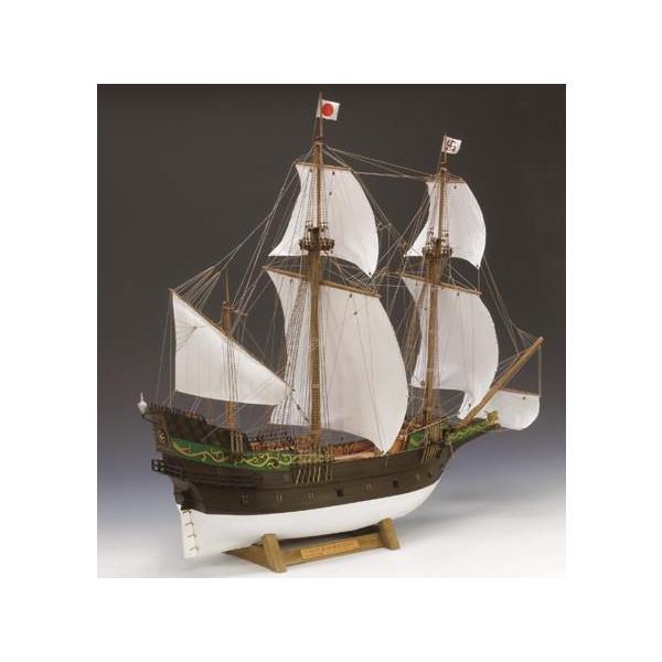 ウッディジョー/木製帆船模型 1/80サン・ファン・バウティスタ