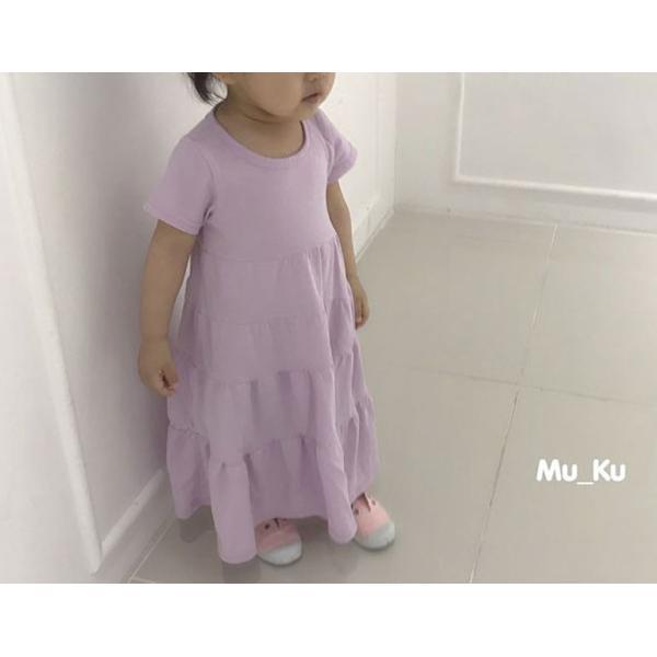 即納商品 韓国子供服 フリルワンピース Aラインロングワンピース キッズワンピース 90cm/100cm/110cm/120cm/130cm|aaahouse|07
