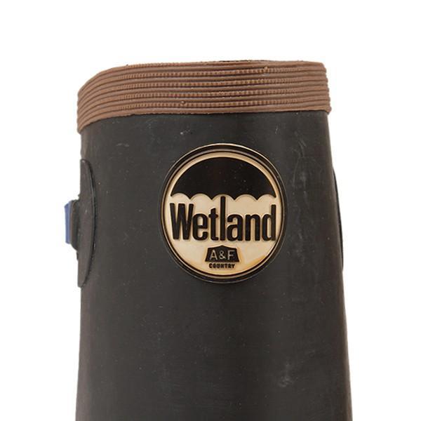 Wetland ウェットランド Ms 折りたたみ長靴 ブルー 男性用|aandfshop|02
