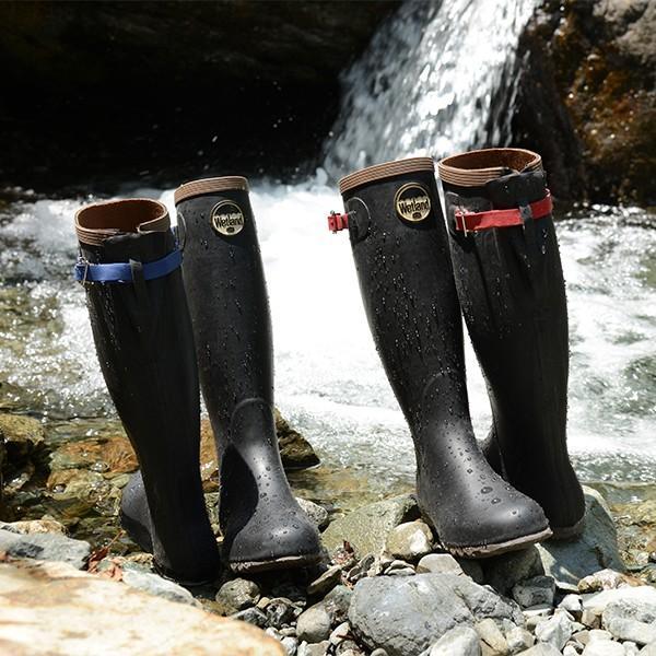 Wetland ウェットランド Ms 折りたたみ長靴 ブルー 男性用|aandfshop|06
