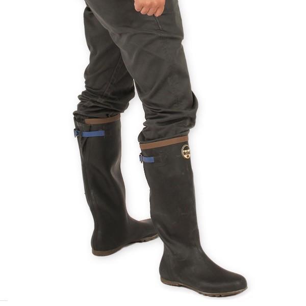 Wetland ウェットランド Ms 折りたたみ長靴 ブルー 男性用|aandfshop|07