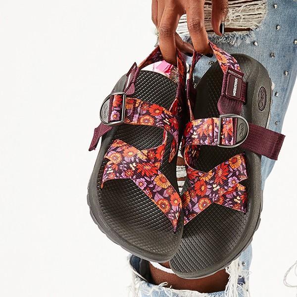 チャコ Chaco ウィメンズ メガZクラウドウッドストック ブロッサムワイン 送料無料 女性用 サンダル スポーツサンダル aandfshop 12