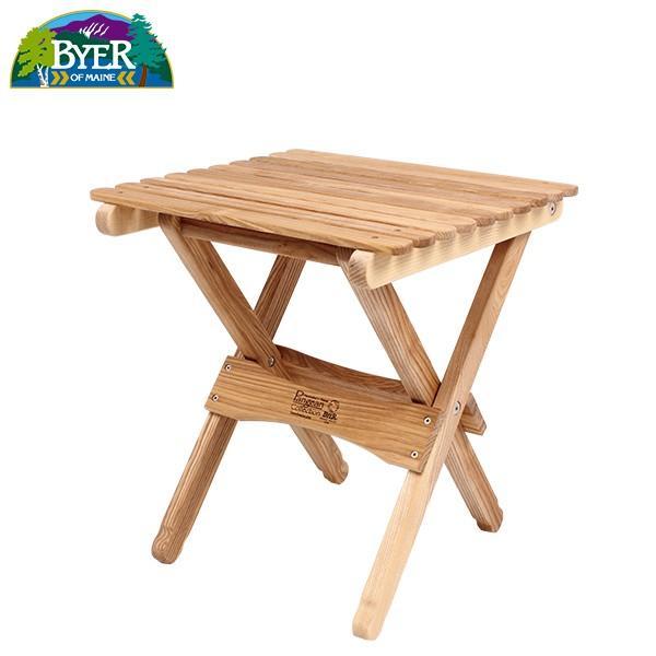 バイヤーオブメイン キャンプ用テーブル 送料無料キャンペーン中 Byer of Maine パンジーン フォールディングテーブル ホワイトアッシュ