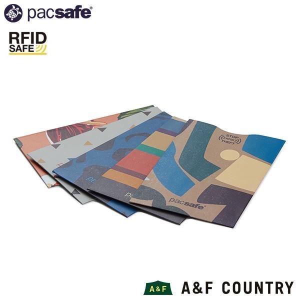 パックセーフ pacsafe RFIDセーフ スリーブ 25(5パック) トロピカル|aandfshop