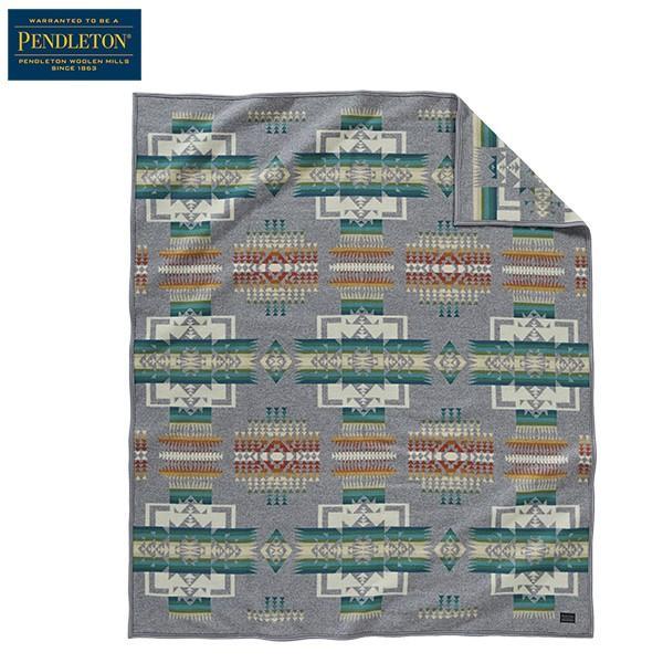 ペンドルトン PENDLETON チーフジョセフブランケット ZD411 グレー 51108 送料無料 日本正規商品|aandfshop