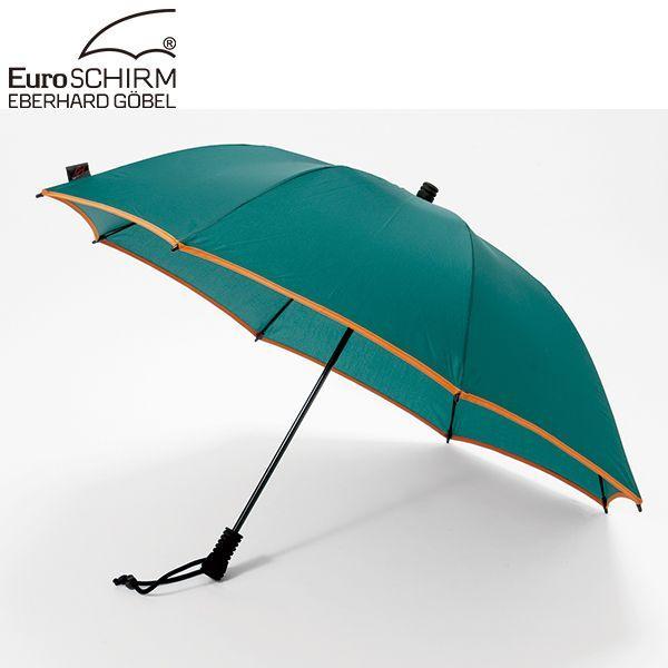 ユーロシルム EuroSCHIRM スイング ライトフレックス アンブレラ グリーン×オレンジ 傘 アンブレラ 雨|aandfshop