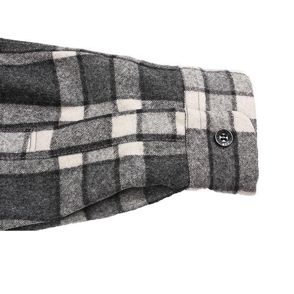 ペンドルトン PENDLETON ボードシャツ ジャパンフィット AA417 グレイ/アイボリープレイド 31967  ウール製品 日本正規商品 SALE|aandfshop|05