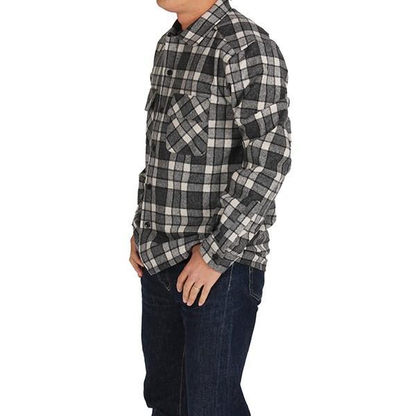 ペンドルトン PENDLETON ボードシャツ ジャパンフィット AA417 グレイ/アイボリープレイド 31967  ウール製品 日本正規商品 SALE|aandfshop|07