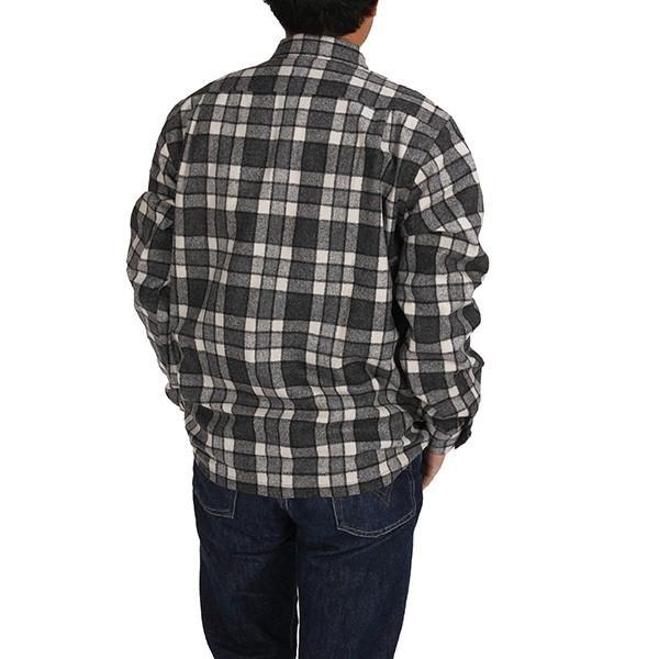 ペンドルトン PENDLETON ボードシャツ ジャパンフィット AA417 グレイ/アイボリープレイド 31967  ウール製品 日本正規商品 SALE|aandfshop|09