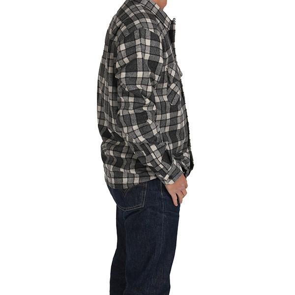 ペンドルトン PENDLETON ボードシャツ ジャパンフィット AA417 グレイ/アイボリープレイド 31967  ウール製品 日本正規商品 SALE|aandfshop|10