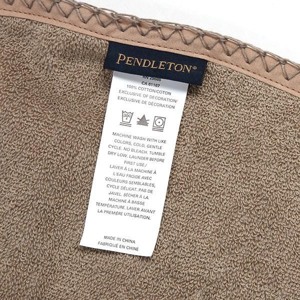 ペンドルトン PENDLETON プリンテッド ラウンドタオル XB290 チーフジョセフアイボリー 51106|aandfshop|10