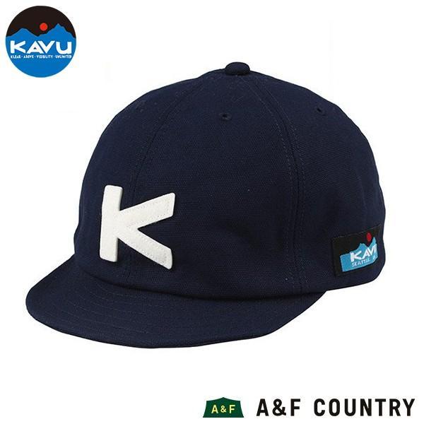 KAVU カブー ベースボールキャップ ネイビー