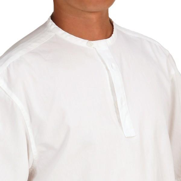 カブー KAVU ROSS シャツ ホワイト A&F直営店別注モデル|aandfshop|13