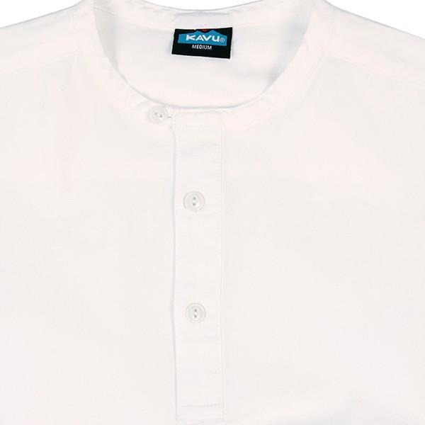 カブー KAVU ROSS シャツ ホワイト A&F直営店別注モデル|aandfshop|03