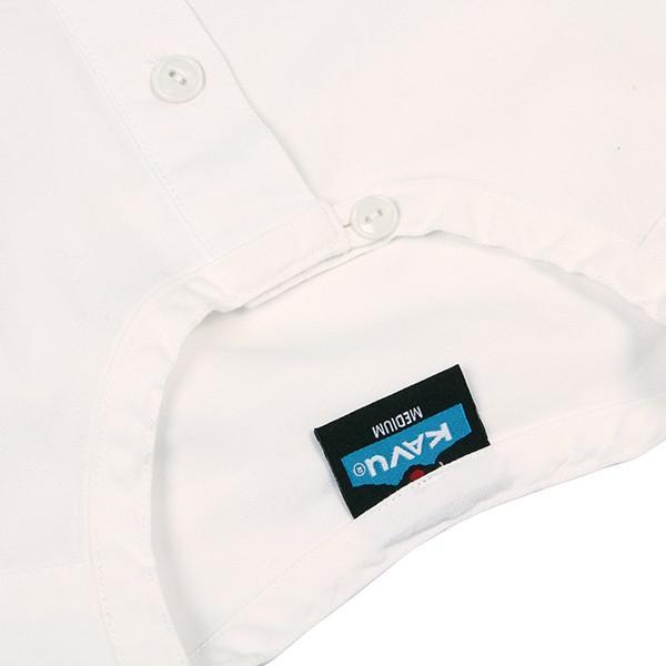 カブー KAVU ROSS シャツ ホワイト A&F直営店別注モデル|aandfshop|06