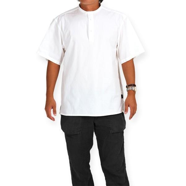 カブー KAVU ROSS シャツ ホワイト A&F直営店別注モデル|aandfshop|07