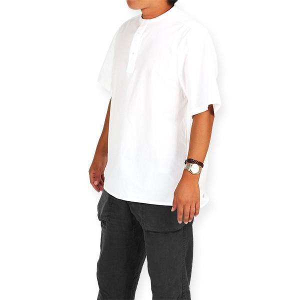 カブー KAVU ROSS シャツ ホワイト A&F直営店別注モデル|aandfshop|08