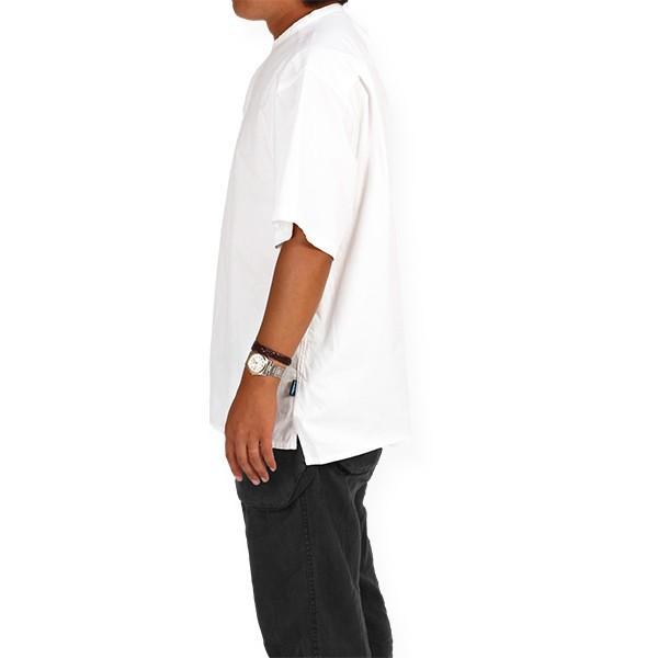 カブー KAVU ROSS シャツ ホワイト A&F直営店別注モデル|aandfshop|09