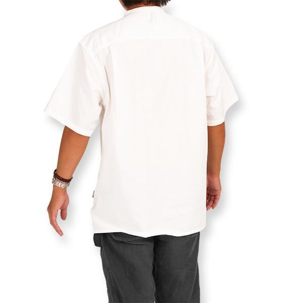 カブー KAVU ROSS シャツ ホワイト A&F直営店別注モデル|aandfshop|10