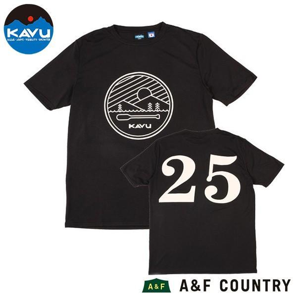 カブー KAVU パドルTシャツ KAVU25周年記念 A&F直営店別注 ブラック