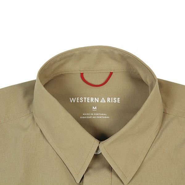 ウエスタンライズ WESTERN RISE Teckショートスリーブシャツ タン A&F直営店別注モデル|aandfshop|02