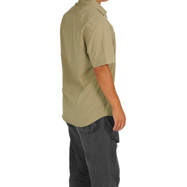 ウエスタンライズ WESTERN RISE Teckショートスリーブシャツ タン A&F直営店別注モデル|aandfshop|11