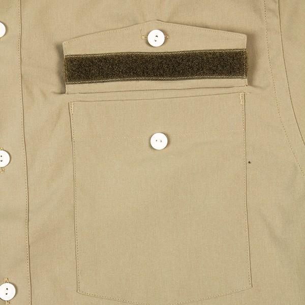 ウエスタンライズ WESTERN RISE Teckショートスリーブシャツ タン A&F直営店別注モデル|aandfshop|04
