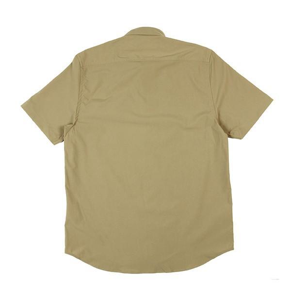 ウエスタンライズ WESTERN RISE Teckショートスリーブシャツ タン A&F直営店別注モデル|aandfshop|06