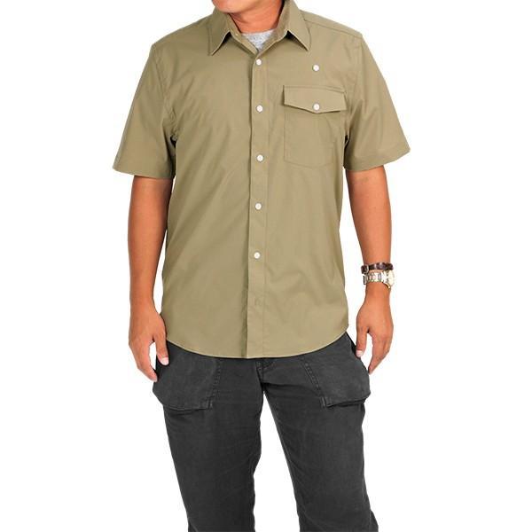 ウエスタンライズ WESTERN RISE Teckショートスリーブシャツ タン A&F直営店別注モデル|aandfshop|07