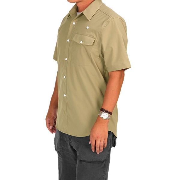 ウエスタンライズ WESTERN RISE Teckショートスリーブシャツ タン A&F直営店別注モデル|aandfshop|08