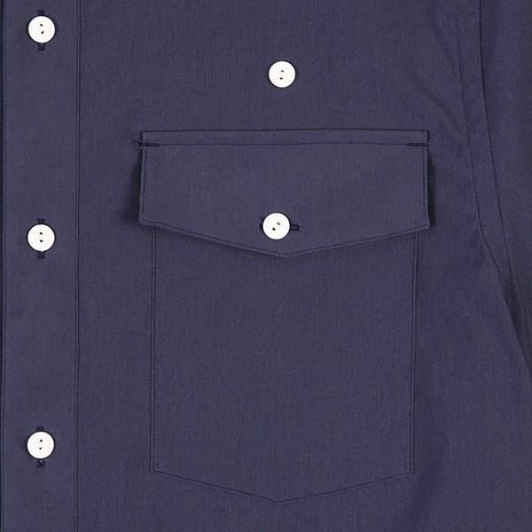 ウエスタンライズ WESTERN RISE Teckショートスリーブシャツ ブルー A&F直営店別注モデル|aandfshop|02