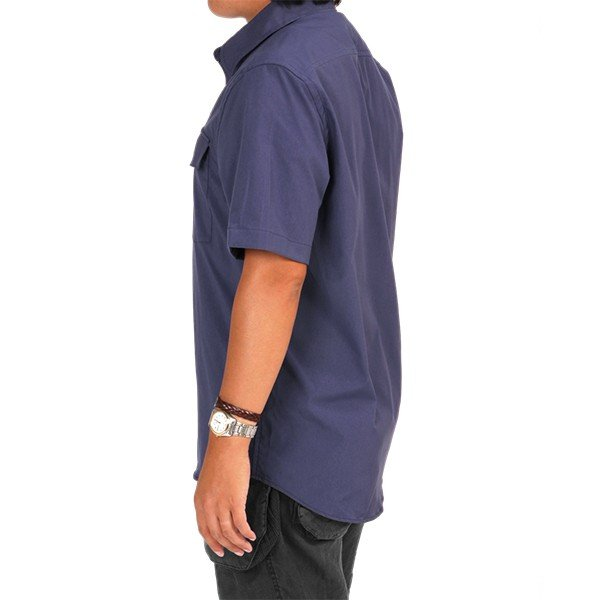 ウエスタンライズ WESTERN RISE Teckショートスリーブシャツ ブルー A&F直営店別注モデル|aandfshop|11