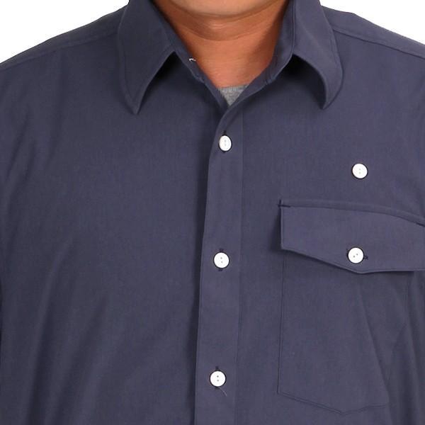 ウエスタンライズ WESTERN RISE Teckショートスリーブシャツ ブルー A&F直営店別注モデル|aandfshop|12