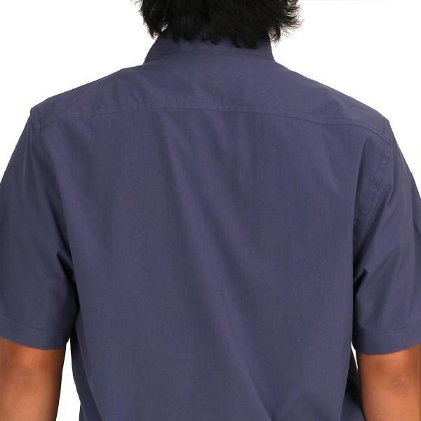 ウエスタンライズ WESTERN RISE Teckショートスリーブシャツ ブルー A&F直営店別注モデル|aandfshop|13