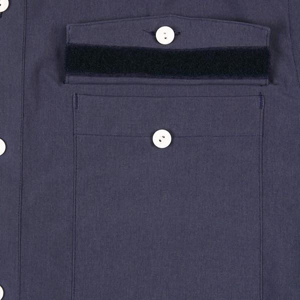 ウエスタンライズ WESTERN RISE Teckショートスリーブシャツ ブルー A&F直営店別注モデル|aandfshop|04