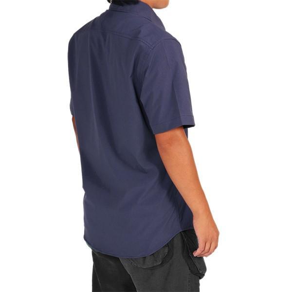 ウエスタンライズ WESTERN RISE Teckショートスリーブシャツ ブルー A&F直営店別注モデル|aandfshop|09