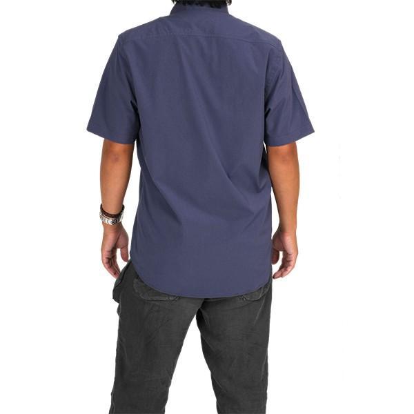 ウエスタンライズ WESTERN RISE Teckショートスリーブシャツ ブルー A&F直営店別注モデル|aandfshop|10