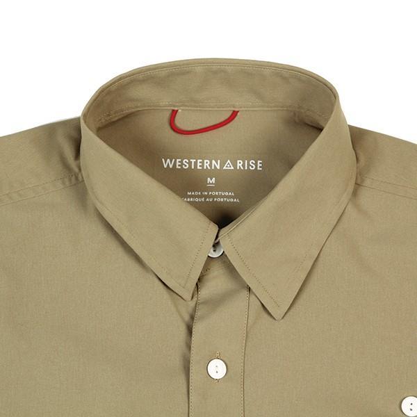 ウエスタンライズ WESTERN RISE Teckロングスリーブシャツ タン A&F直営店別注モデル|aandfshop|02