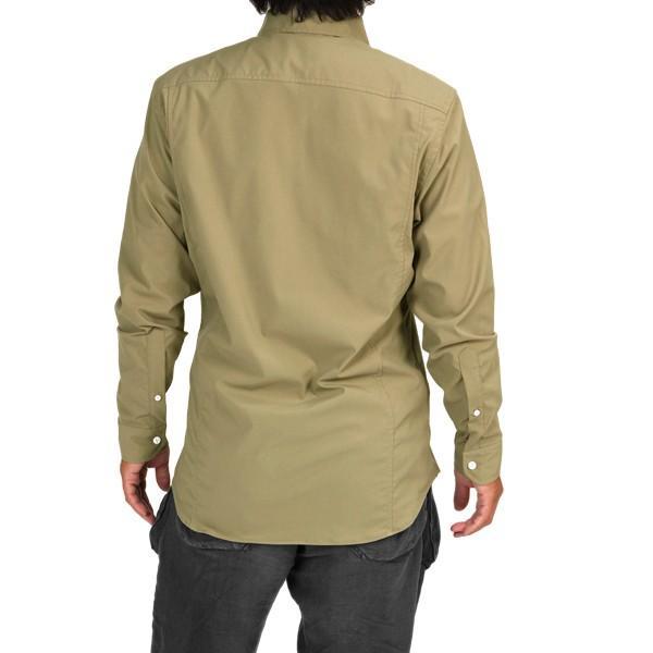 ウエスタンライズ WESTERN RISE Teckロングスリーブシャツ タン A&F直営店別注モデル|aandfshop|11