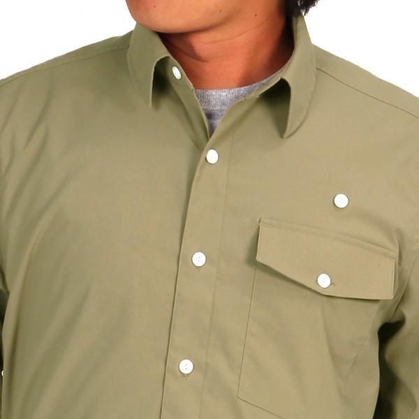 ウエスタンライズ WESTERN RISE Teckロングスリーブシャツ タン A&F直営店別注モデル|aandfshop|13
